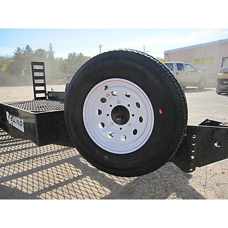 Tow Tuff Heavy Duty Spare Tire Carrier, TTF-08HD