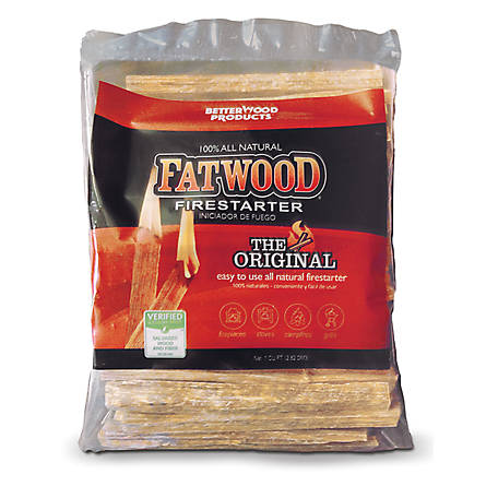 Fatwood Fire Starters 4 lb. Bag 9944, 9944
