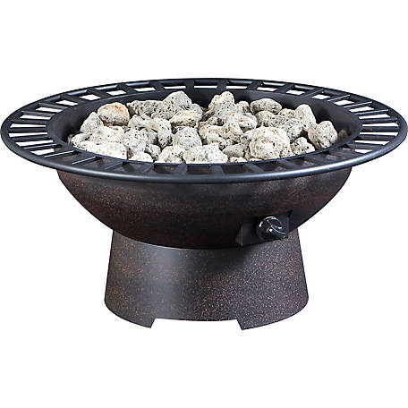 Bond Steel Gas Firepit, Z66672
