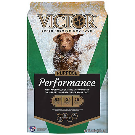 Victor Purpose Performance Dry Dog Food, 40 lb.