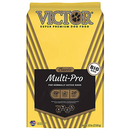 Victor Classic Multi Pro Dry Dog Food, 50 lb.