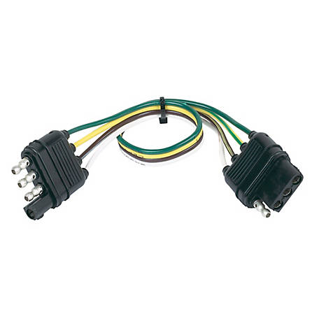 Hopkins Towing Solutions 4 Wire Flat Extension, 48145