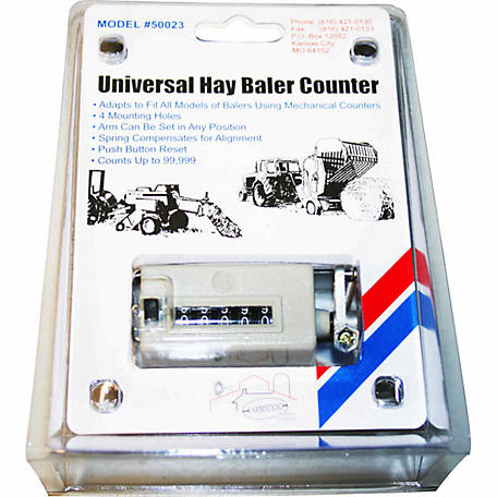 CountyLine Universal Hay Baler Counter