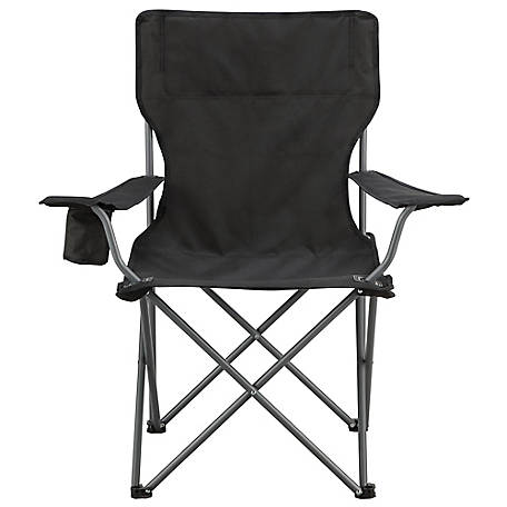 Red Shed Quad Chair, Black, AC101