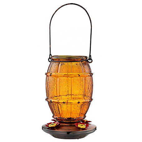 Royal Wing Brown Barrel Hummingbird Feeder, EX190130J