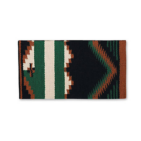 Mayatex Durango Heavyweight Wool Saddle Blanket, 32 x 64, 1308