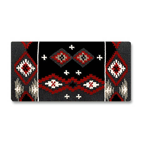 Mayatex Square-Cut - Flat, Tight-Weave Wool Saddle Blanket, 1462