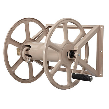 Liberty Garden Multi-purpose Wall & Floor Mounted Hose Reel, 709