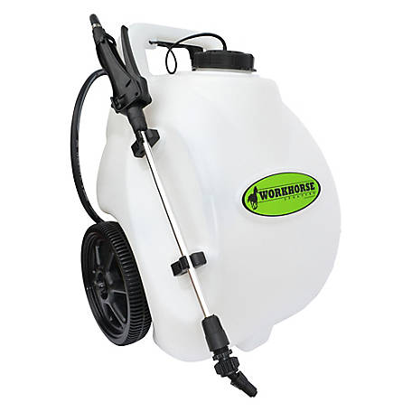 WorkHorse Sprayers 5 Gallon 12 Volt Rechargeable Sprayer, LG05SS