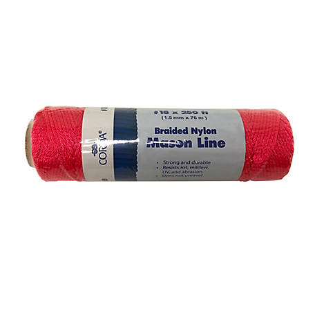 CORDA #18 x 3000 in. Braided Nylon Mason Line, NB7716