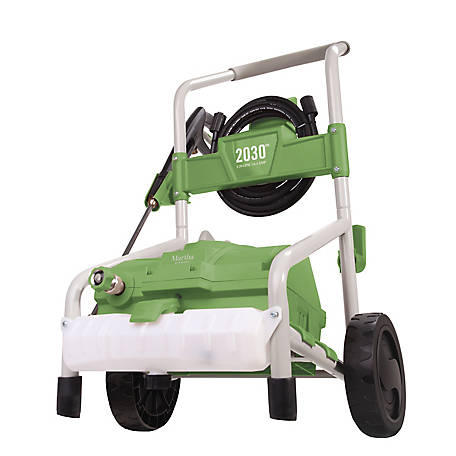 Martha Stewart Electric Roll Cage Trolley Pressure Washer, MTS-2030PW