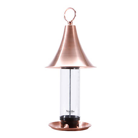 Martha Stewart Real Copper Bird Feeder, MTS-CBF1