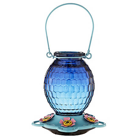 Royal Wing Round Blue Hummingbird Feeder, EX190130A
