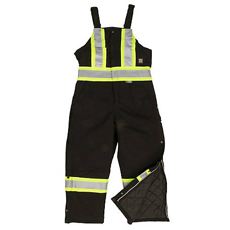 Work King Men's Safety Insulted Duck Overall S75721