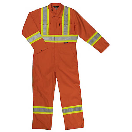 Work King Men's Safety Unlined Coverall S79211