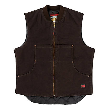 Tough Duck Men's Quilt Lined Vest 193