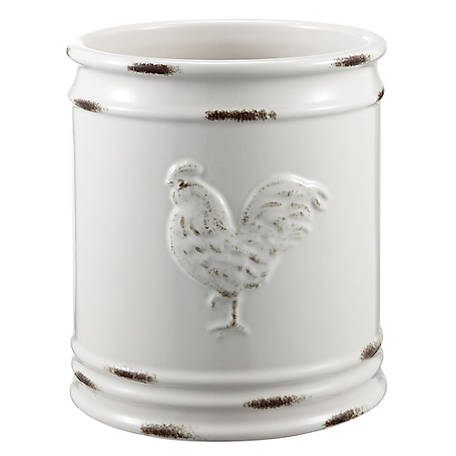 Red Shed Rooster Crock