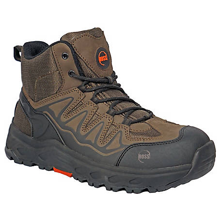 HOSS Boot Company Men's Eric High Wedge Safety EH Boot, 50239