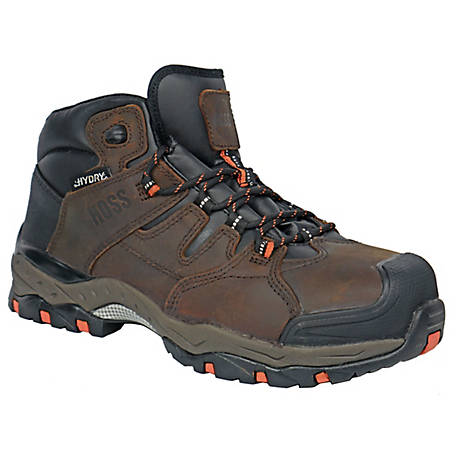 HOSS Boot Company Men's Tracker Composite Toe Hydry Boot EH, 50251