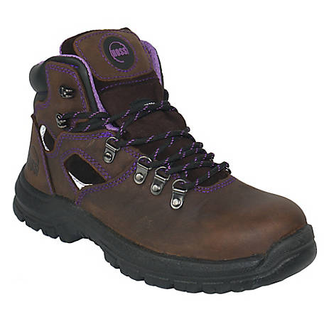 HOSS Boot Company Women's Lily 6 in. Steel Toe EH Boot, 70423