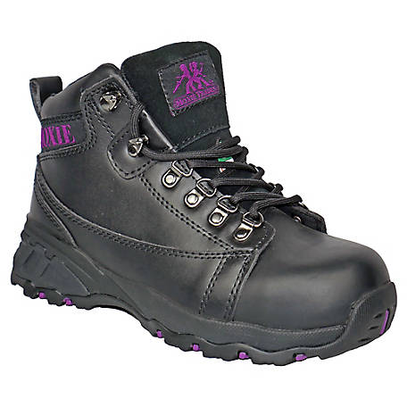 Moxie Trades Women's Vegas Black Aluminium Toe EH Performance Boot, MT50121