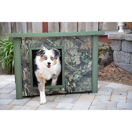 Mossy Oak Rustic Lodge Dog House ECOH206M, ECOH206M