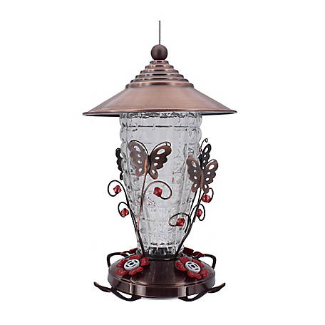 Royal Wing Metal Butterfly Hummingbird Feeder, HB-0783F-A