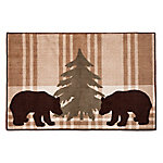 HiEnd Accents Bear Plaid Rug BL1812