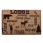 HiEnd Accents Lodge Rug BL1840-TT-OC