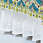 HiEnd Accents Eyelet Bed Skirt BS1005-FL-OC