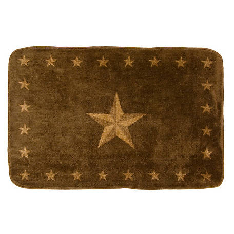 HiEnd Accents Star Rug Os Dc BW1001-OS-DC