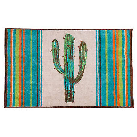 HiEnd Accents Rug With Cactus Design BW1754