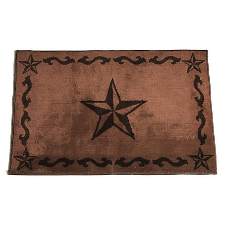 HiEnd Accents Star Print Rug Os BW2010-OS