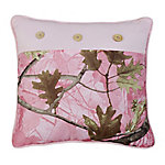 HiEnd Accents Oak Camo Pillow P1 CM1002P1