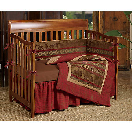 HiEnd Accents Baby Cascade Lodge Crib Bedding CS1845