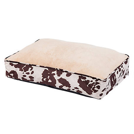 HiEnd Accents Cowhide Pattern Dog Bed DB3067
