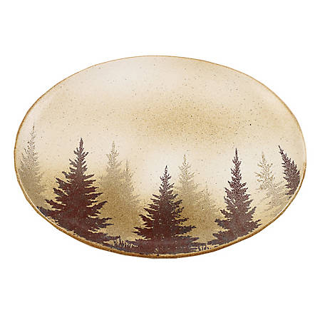 HiEnd Accents Clearwater Pines Serving Plater, DI1763SP01