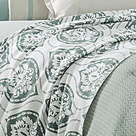 HiEnd Accents Belmont Duvet Super King, FB1611DU-SK-OC