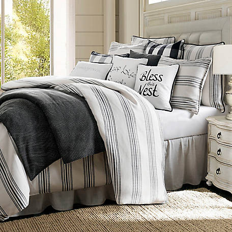 HiEnd Accents Blackberry 3 pc. Comforter Set, Super King, FB1776-SK-OC
