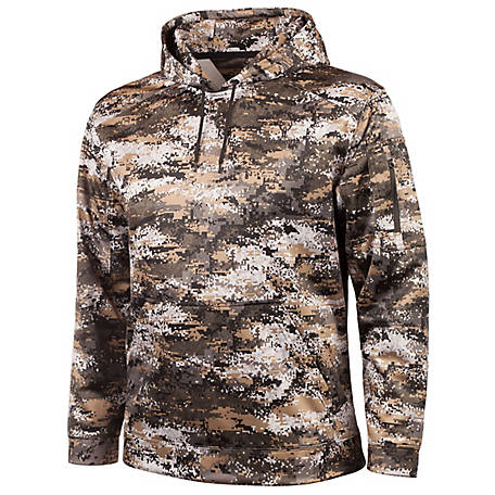 Huntworth Men's Digital Camo Hoodie E-9197-31DC