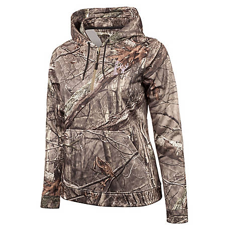 Huntworth Women's Hidden Camo Performance Hoodie E-926-W-HDN