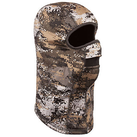 Huntworth Men's Digital Camo Lined Facemask E-5663-30DC