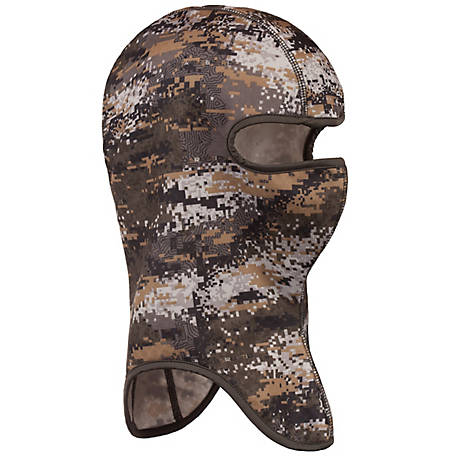 Huntworth Men's Digital Camo Lightweight Facemask E-5688-DC