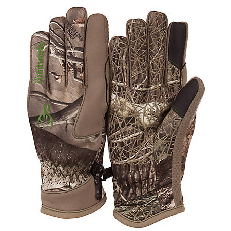 Huntworth Youth Hidden Camo Fleece Lined Glove E-1095-Y-HDN