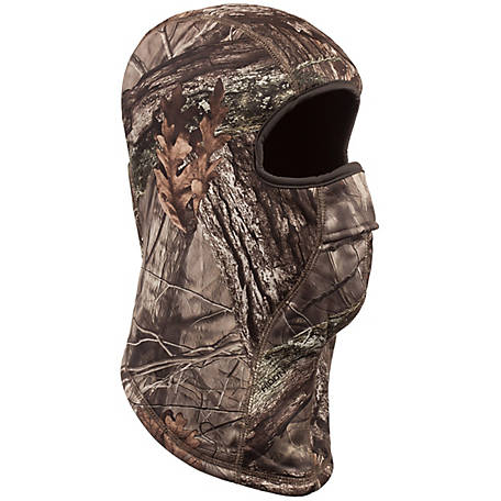 Huntworth Men's Hidden Camo Lined Facemask E-5625-HDN