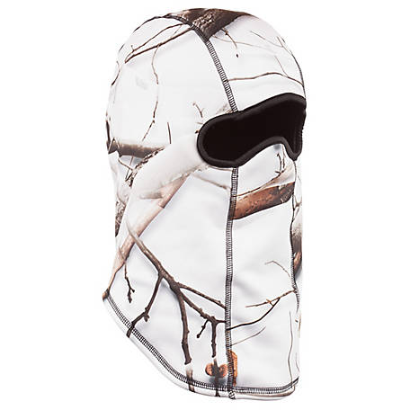 Huntworth Men's Snow Camo Facemask E-5517-31SCB