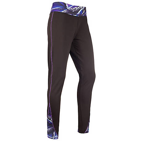 Huntworth Women's Ultraviolet Camo Legging E-9156-W-21BK/UV