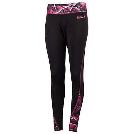 Huntworth Women's Passion Camo Legging E-9156-W-21BK/PA