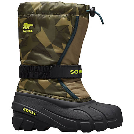 SOREL Unisex Youth Flurry Insulated Boot