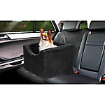 Precious Tails High Density Foam Small Single Pet Car Booster Seat, EDMW16BC-BLK